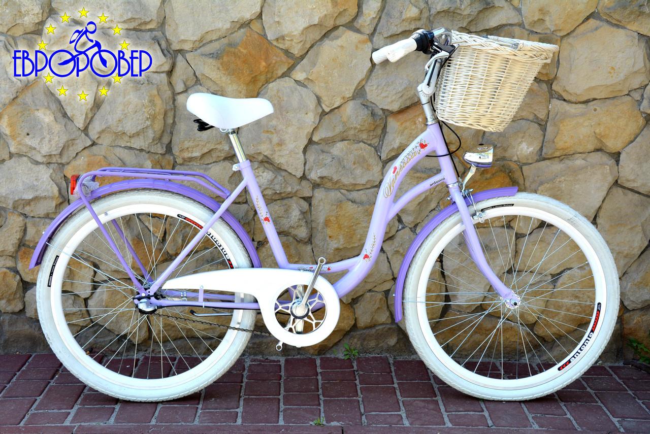 Велосипед VANESSA Vintage Violet 26 Польша