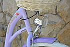 Велосипед VANESSA Vintage Violet 26 Польша, фото 2