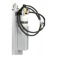 Баллон с азотом, оснащенный регулятором давления