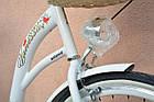 Велосипед VANESSA 26 white Польша, фото 9