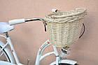 Велосипед VANESSA 26 white Польша, фото 10