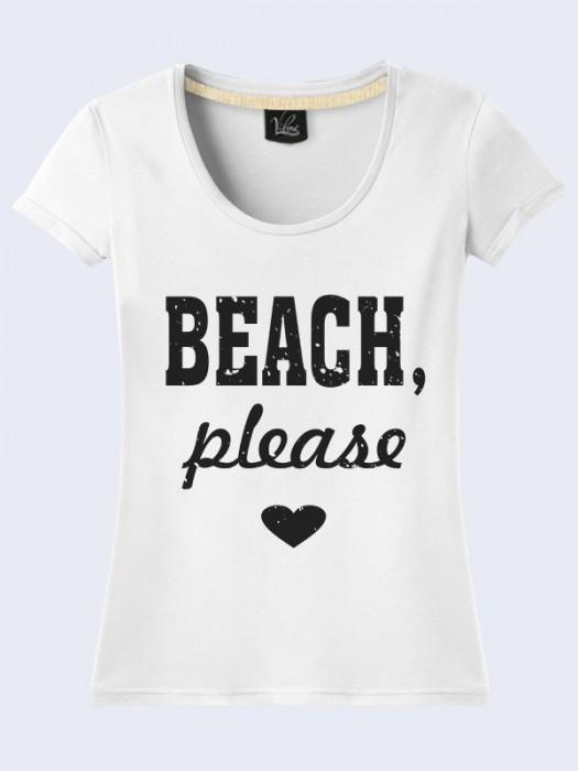 Футболка Пляж Пожалуйста