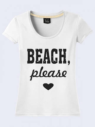 Футболка Пляж Пожалуйста, фото 2