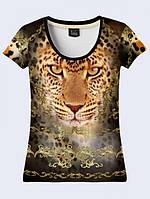 Футболка Золотой леопард