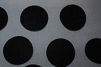 Фетровый кружок d 4 см чёрный
