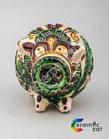 Сувенир копилка в форме хрюшы керамический, фото 1