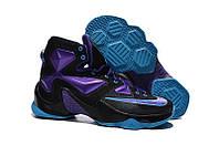 Кроссовки Nike LeBron 13 Black Purple Blue