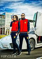 Мужской спортивный костюм Ferrari с карманами  50р