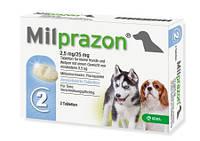 Милпразон антигельминтик для маленьких собак и щенков до 5кг (2 таблетки)