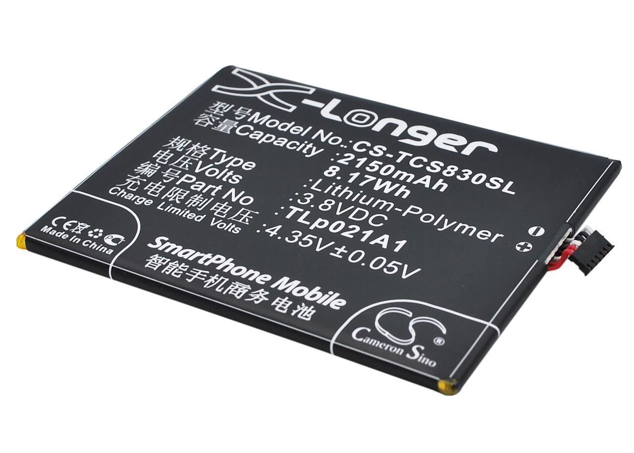 Аккумулятор для TCL S838M 2150 mAh