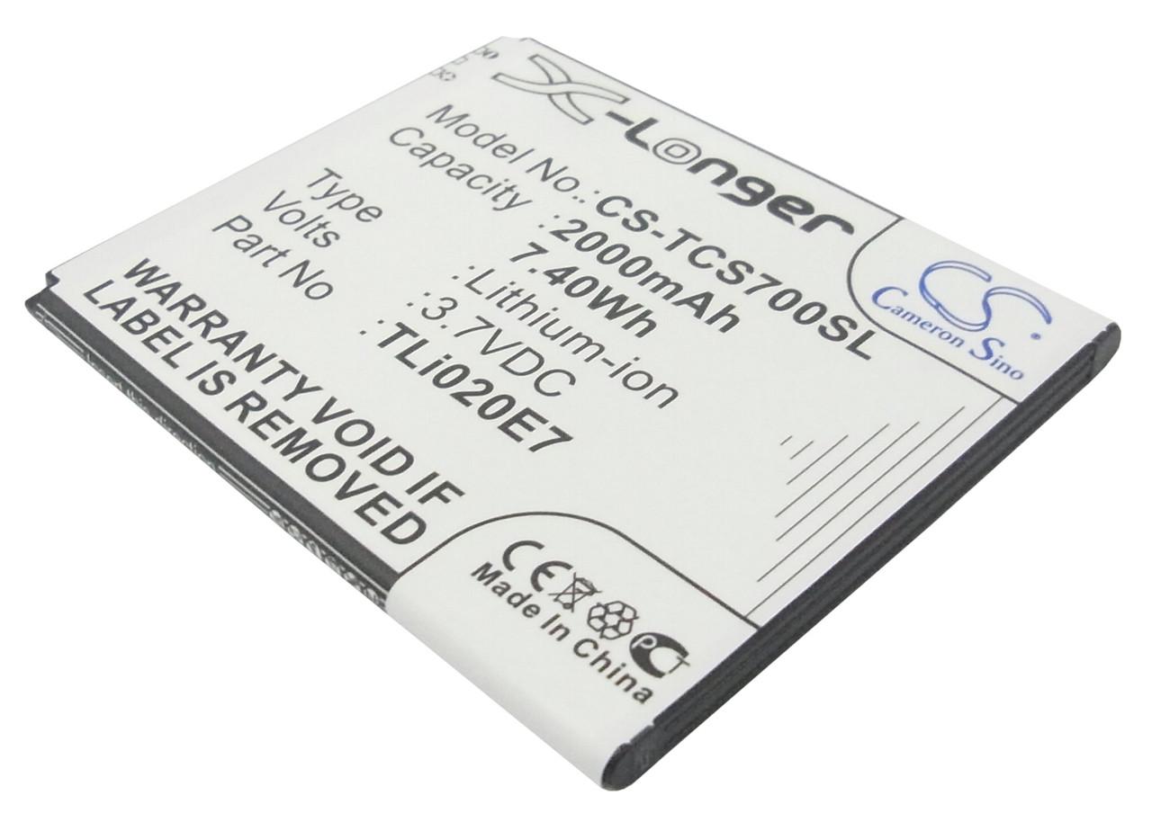 Аккумулятор для TCL J726T 2000 mAh