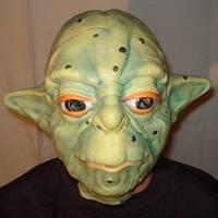 """Карнавальная маска """"Йода"""""""