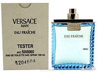 Тестер мужской туалетной воды Versace Man Eau Fraiche edt