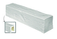 Балка декоративная из полиуретана «Модерн» ED 104 (2м) classic белая 17х19