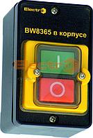 Пост кнопка ПК722-2, 10A, 230/400B, защита IP65, IP54 (1 красная, 1 зеленая NO+NC) Electro