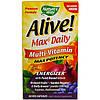 Мультивитаминный комплек с натуральными продуктами Max Potency, Nature's Way, Alive! , 90 таблеток