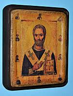 Икона Святого Николая Чудотворца ХІІІ век среднего размера