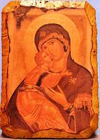 Фреска икона Божья Матерь Владимирская