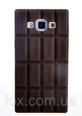 Силиконовый чехол-шоколадка для Samsung Galaxy A3
