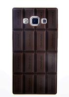 Силиконовый чехол-шоколадка для Samsung Galaxy A3, фото 1
