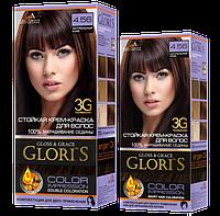 Стойкая крем-краска для волос - Gloris Gloos&Grase