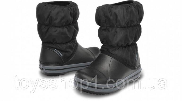 1598c36223e4 Зимние детские сапоги Crocs Winter Puff - Интернет-магазин
