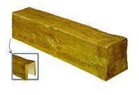 Балка декоративная из полиуретана «Модерн» ED 106 (2 м) classic светлая 12х12