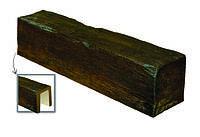 Балка декоративная из полиуретана «Модерн» ED 106 (4 м) classic темная 12х12