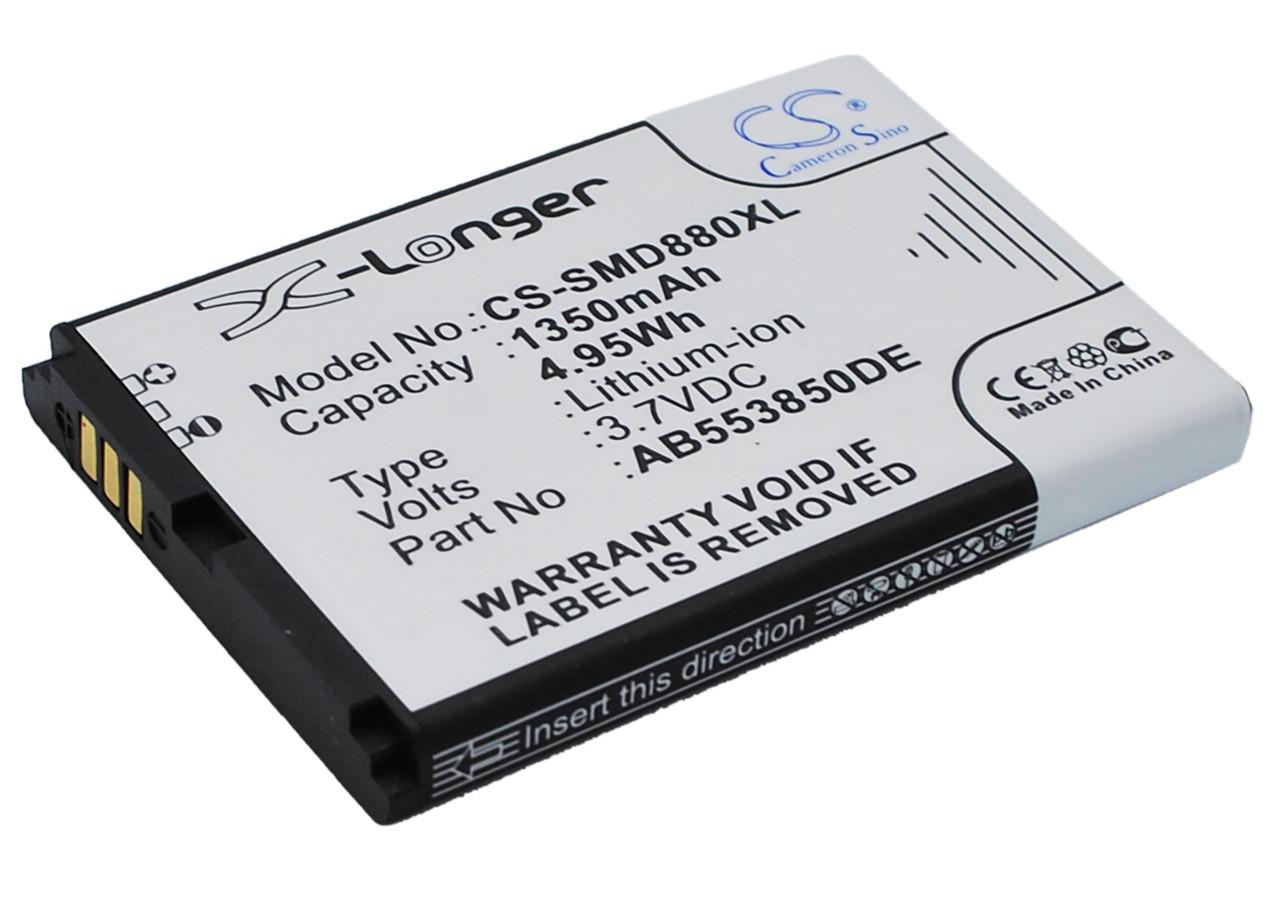Аккумулятор для Samsung GT-B5712C 1350 mAh