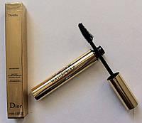 Водостойкая, объемная тушь для ресниц Dior Diorific waterproof mascara volume sur-mesure buildable volume