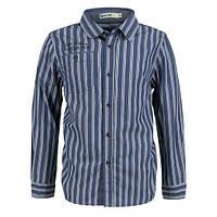 Классическая рубашка в полоску Glo-story; 134 размер, фото 1