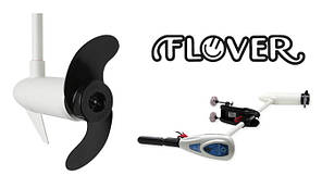 Электрический лодочный мотор Flover 45TGS ( с телескопической ручкой и индикатор зарядки АКБ )