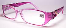 Женские очки плетенные дужки (88079 ф)