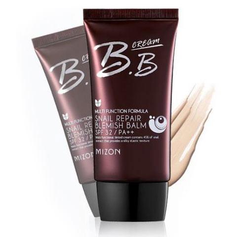 Улиточный ББ крем Mizon Snail Repair Blemish Balm Cream - Sand Beige