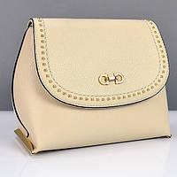 12d720304979 Интернет магазин сумок SUMKOFF - женские и мужские сумки, клатчи, кошельки,  рюкзаки. г. Днепр. Бежевая маленькая сумочка молодежная женская №2814
