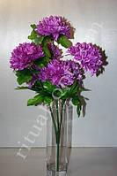 Искусственный букет из хризантем № 143