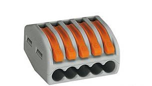 Клеммная колодка зажимная WAGO 222-415