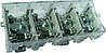 Кабельный разветвитель 37/6x4, латунь, (под опломбирования), сечение max/min 37-6, 125A/35A, 400B, с крышкой, Electro