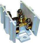 Кабельный разветвитель 37/6, латунь, сечение max/min 37-6, 125A/75A, 400B, Electro