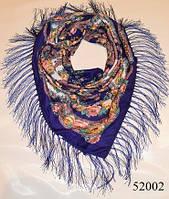 Павлопосадский шерстяной платок (52002), фото 1