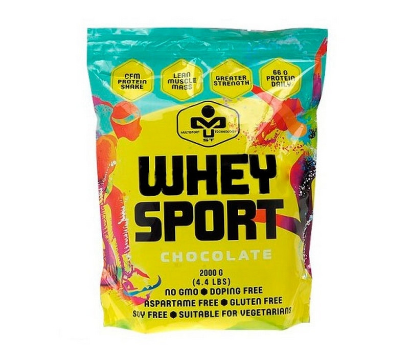 Протеин MUST Whey Sport 2 кг
