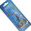 KDS Ножницы 01-4252 маникюрные ногтевые загнутые 22мм, фото 2