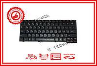 Клавиатура Lenovo IdeaPad S12 Series черная RU/US