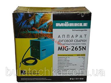 Сварочный полуавтомат Morkle (Моркле) MIG-265N (MIG+MMA)