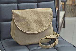 Женская сумка из натуральной кожи GBAGS B.0011 бежевый