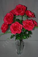 Искусственный букет из раскрытых роз № 403