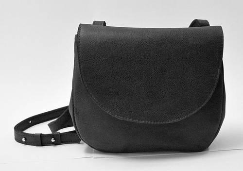 Строгая женская сумка из натуральной кожи GBAGS B.0011 черный
