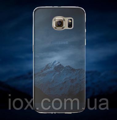 """Силиконовый чехол """"Ночь"""" для Samsung Galaxy S6"""