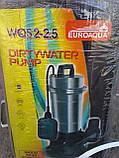 Дренажно–фекальный насос Euroaqua WQS2–2.5, фото 7