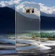 """Силиконовый чехол """"Река"""" для Samsung Galaxy S6"""